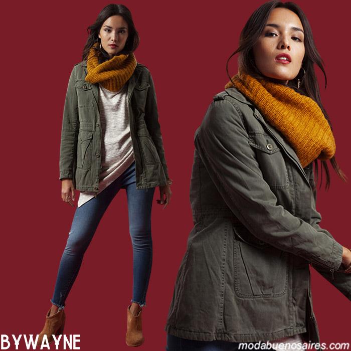 Camperas de moda para mujer otoño invierno 2019.