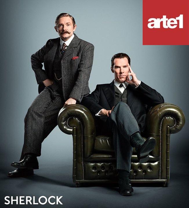Sherlock está de volta ao canal Arte1