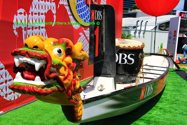 Dragon Boat, DBS Marina Regatta 2015, Singapore