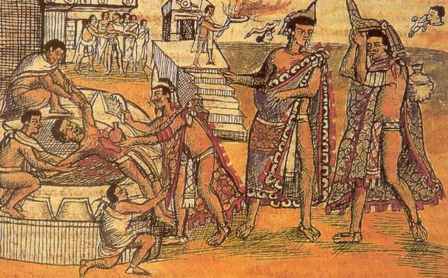 pengorbanan jiwa manusia dari suku aztec yang sangat mengerikan