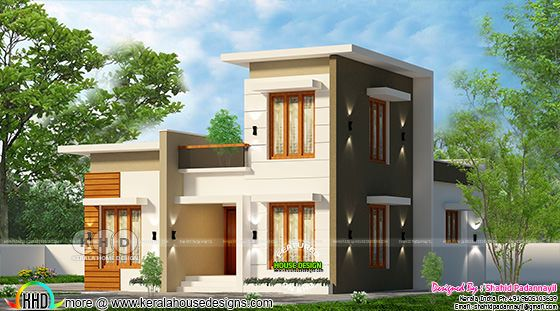 2 BHK budget home flat roof style