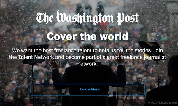 《華盛頓郵報》:要做媒體界Uber