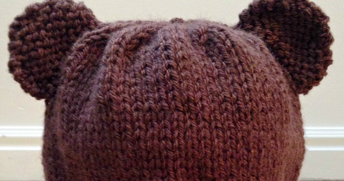 Toddler Boy Knit Hat Pattern