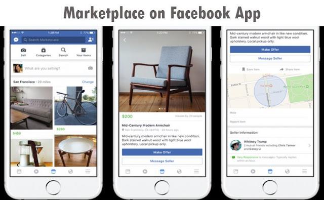 Marketplace on Facebook App – The Facebook Marketplace