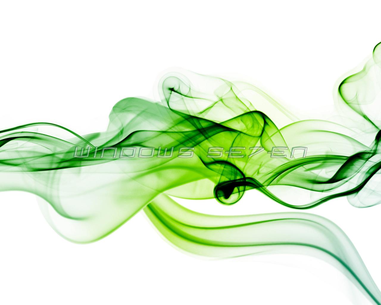 Imagenes Hilandy: Fondo De Pantalla Windows Seven Humo Verde