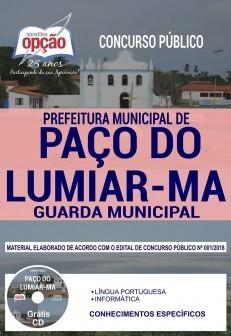 Apostila Guarda Municipal Paço do Lumiar 2019