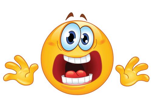 Stressed Smiley | Symbols & Emoticons