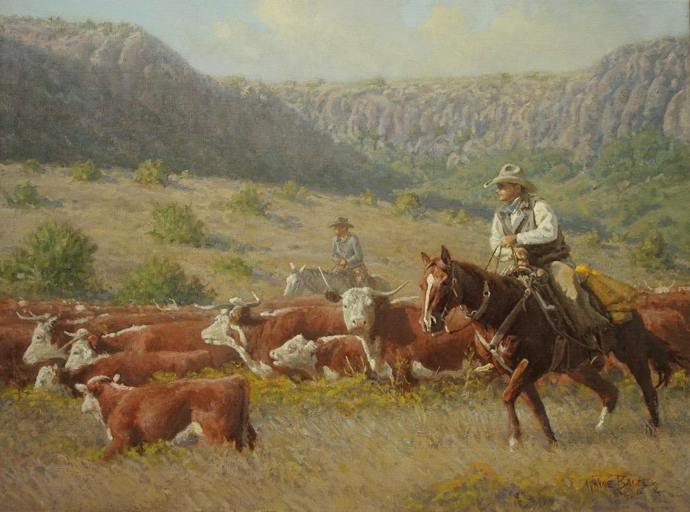Im genes arte pinturas im genes caballos y vaqueros - Cuadros de vacas ...