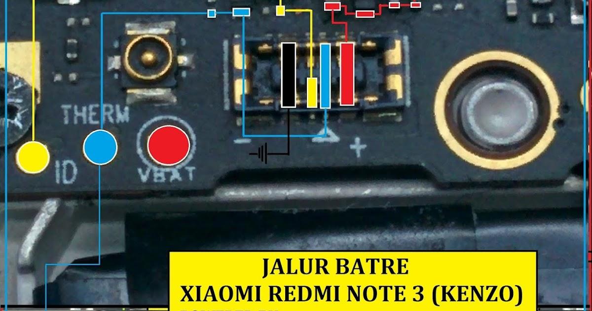 Media Care Telekomunikasi Indonesia  Jalur Batre Redmi Note 3  Kenzo