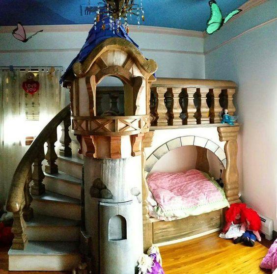 أحدث غرف نوم أطفال للبنات الصغار