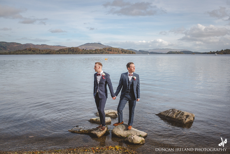 Loch Lomond Wedding Lodge on Loch Lomond