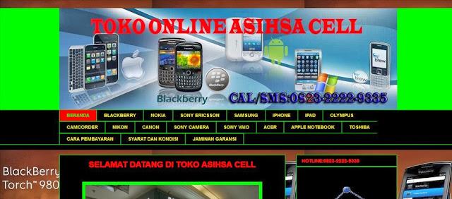 Review Toko Online Asihsa Cell Penipu