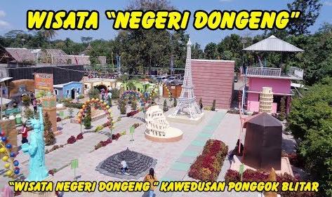 Wisata Negeri Dongeng Kawedusan Ponggok Blitar Terbaru 2019