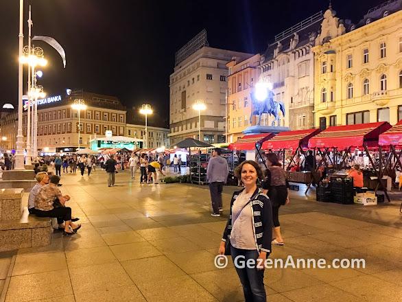 Zagreb meydanı ve halk pazarı, Hırvatistan