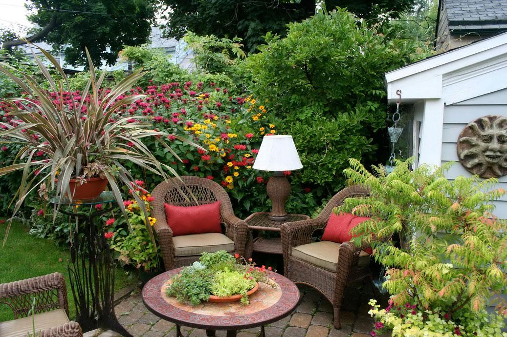75 desain taman belakang rumah minimalis klasik Como tener un lindo jardin