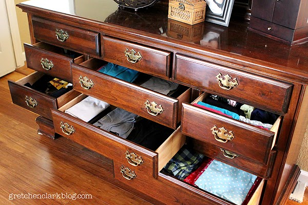 One Project At A Time Dresser Drawers