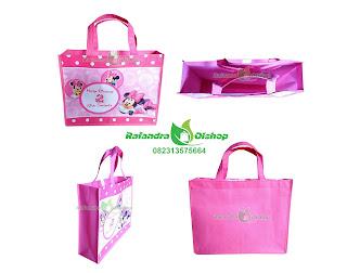 tas ultah minnie mouse murah,tas ulang tahun anak murah,tas souvenir ultah murah,tas ultah anak,