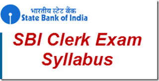SBI Clerk Exam syllabus