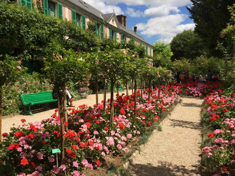 dom i ogród Moneta we Francji Giverny