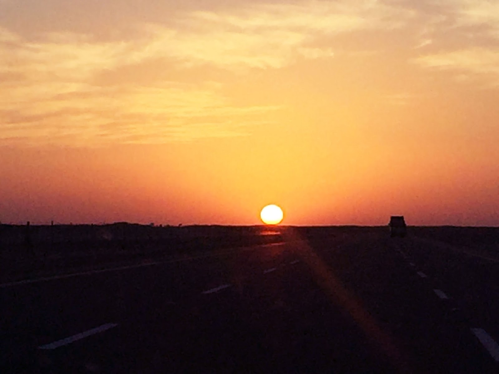 Sunset in Riyadh