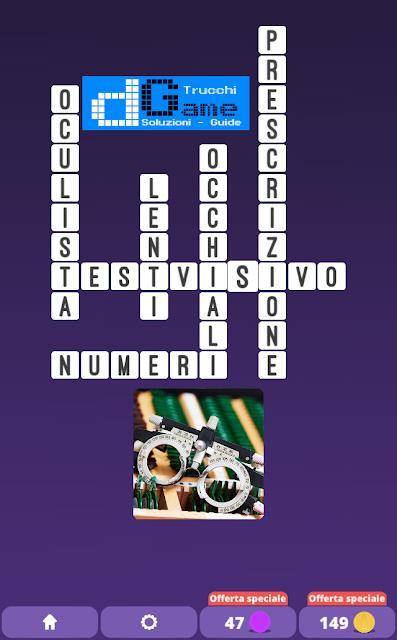 Soluzioni One Clue Crossword livello 18 schemi 5 (Cruciverba illustrato)  | Parole e foto