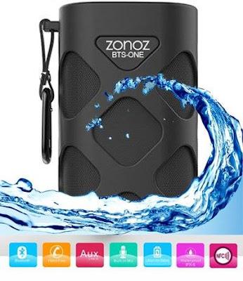Waterproof Wireless Portable Bluetooth Speaker
