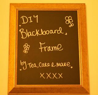 Make | DIY Blackboard Frame 1