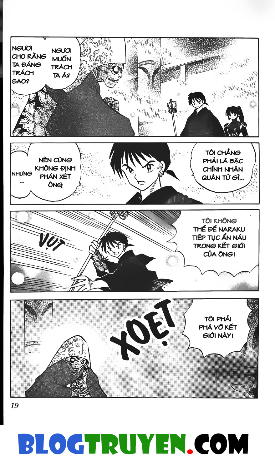 Inuyasha vol 28.1 trang 17