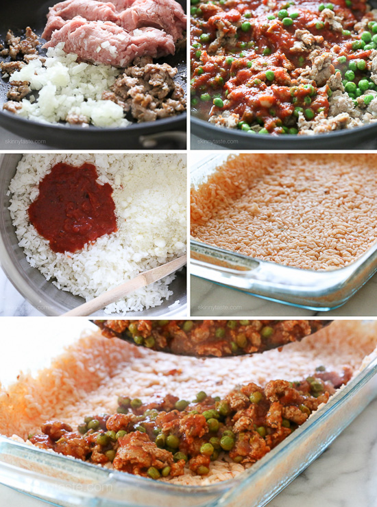 Sicilian Rice Ball Casserole | Skinnytaste | Information ...