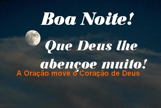 Boa Noite Para Facebook: A Oração Move O Coração De Deus: Boa Noite Para WhatsApp
