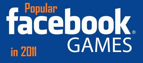 Popular Facebook Games In 2011
