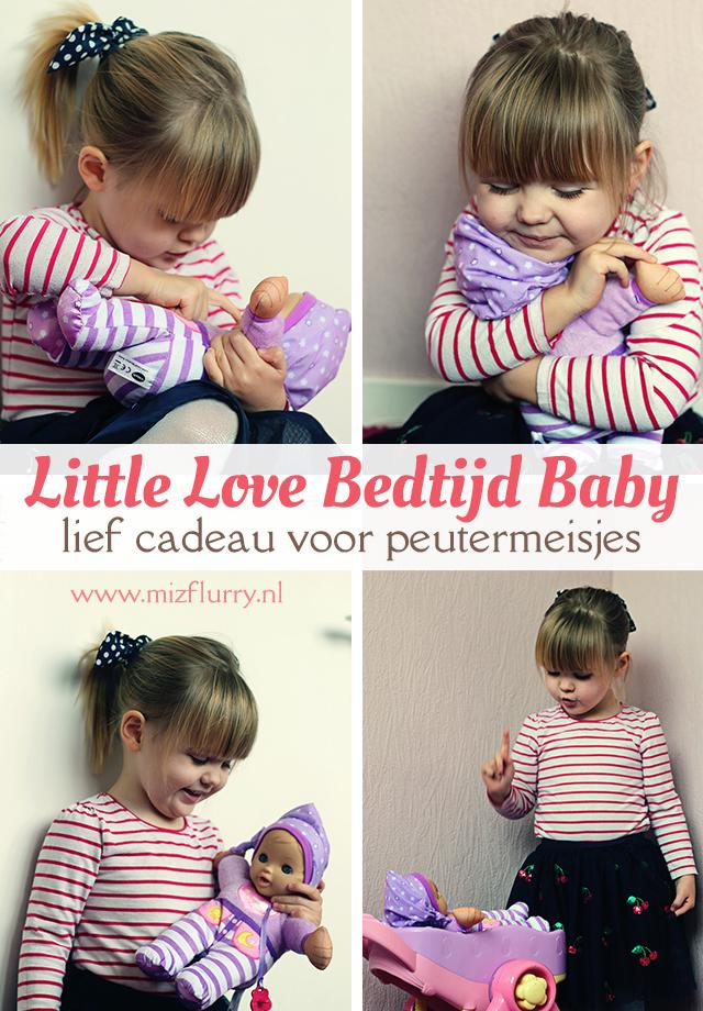 Little Love Bedtijd Baby - lief cadeau voor peutermeisjes