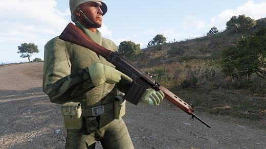 Arma3用のフォークランド紛争MOD