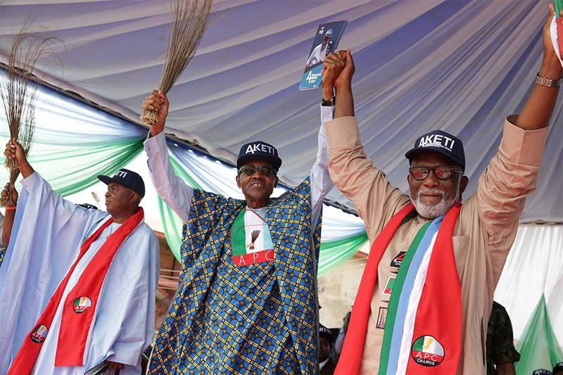 Nigerians suffering from 16 years of PDP misrule - Buhari
