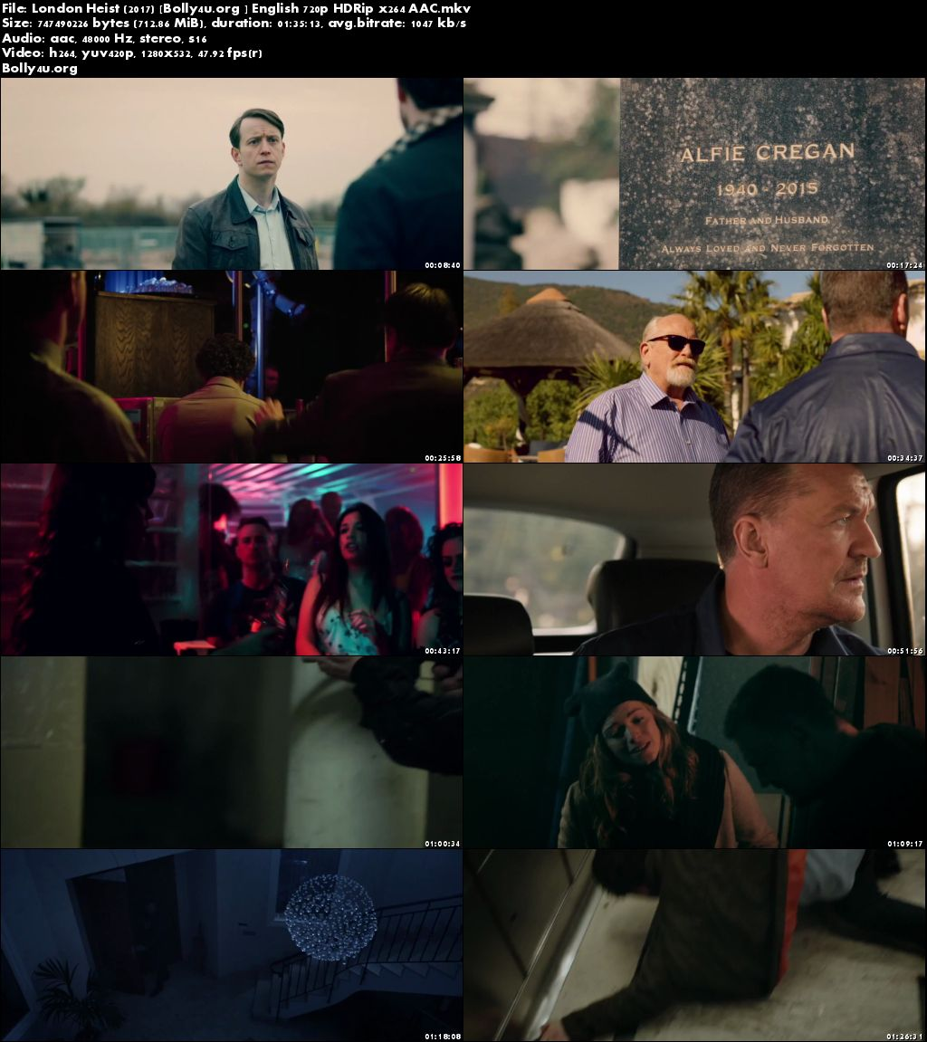 London Heist 2017 HDRip 300MB Full English Movie Download 480p