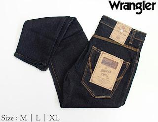 Celana Jeans Pria Wrangler Hitam
