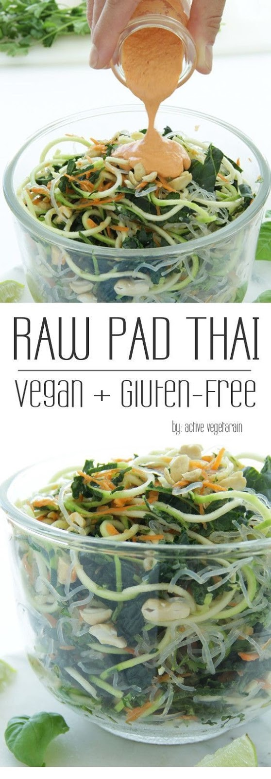 Raw Vegan Pad Thai