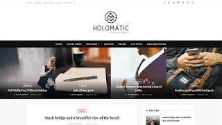 Holomatic Template