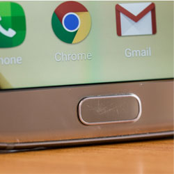 Lecet Di Tombol Home Samsung Galaxy S7 Edge