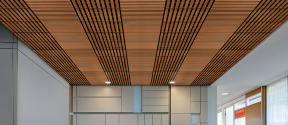 R3a Materials Armstrong Woodworks Ceiling New Woodworks