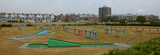 Photo of the Crazy Golf and Pit-Pat courses at Western Putting in Littlehampton