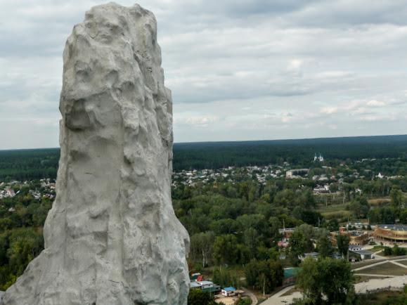 Святогірська Свято-Успенська Лавра. Крейдяна скеля
