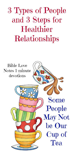 3 Types of People and Biblical Ways to Get Along