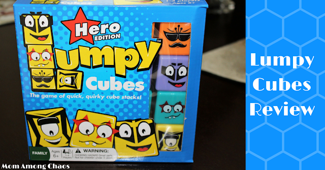 Lumpy Cubes, memory games, family, games, for kids, for adults, party, family night, roosterfin, review