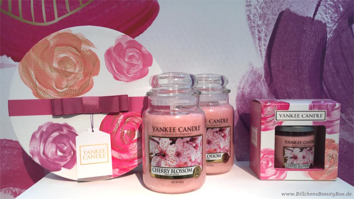 Yankee Candle - Alle Kollektionen und Duftbeschreibungen für 2018 - Muttertag Geschenkset - Cherry Blossom