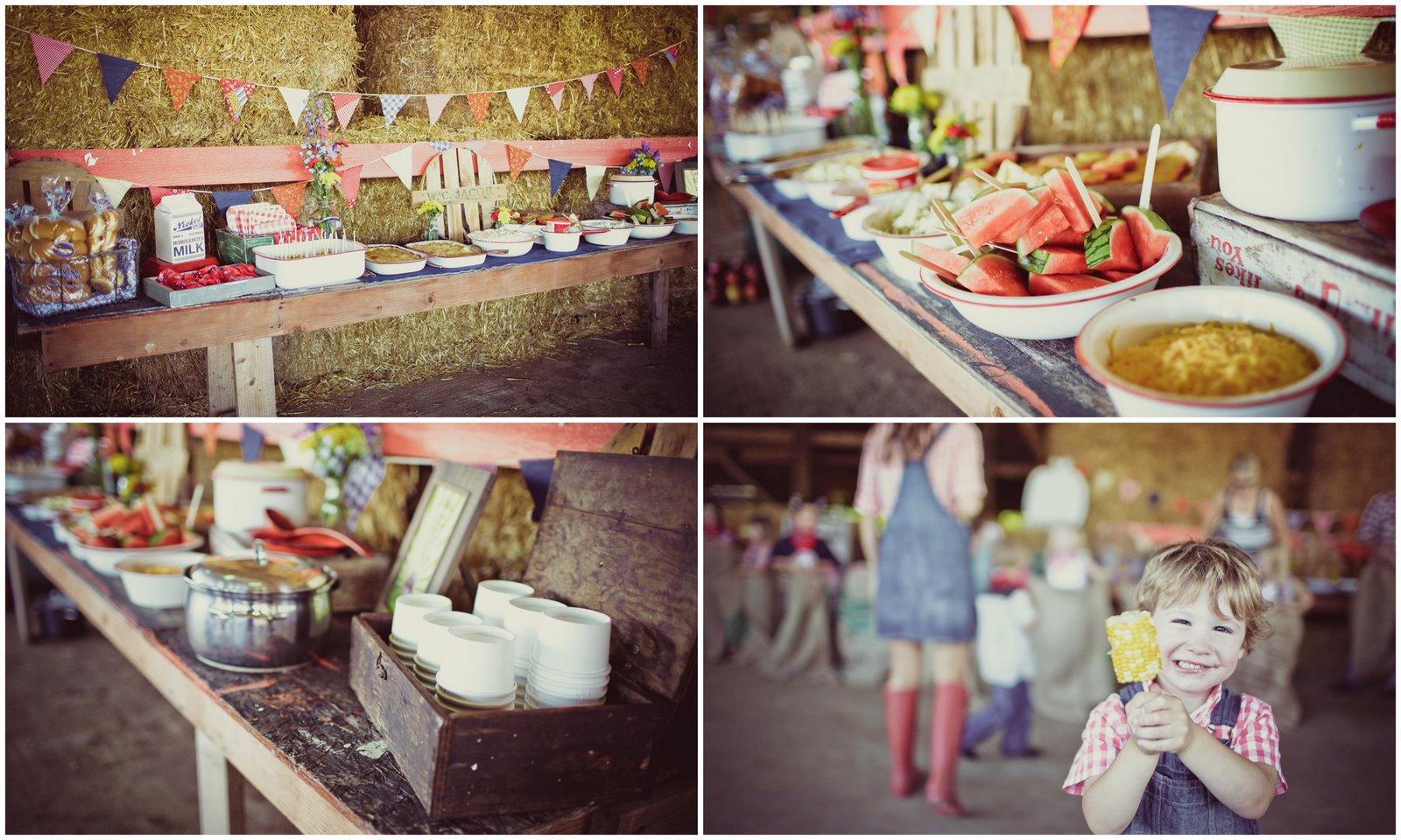 Jenny Keller Design: Vintage Barn Party