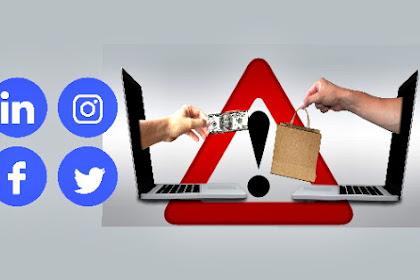 Cara menghindari agar transaksi Online aman tidak tertipu