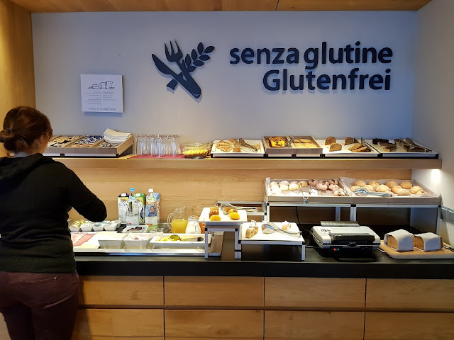 buffet senza glutine colazione hotel villa madonna