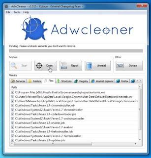 AdwCleaner – Phần mềm loại bỏ quảng cáo trình duyệt