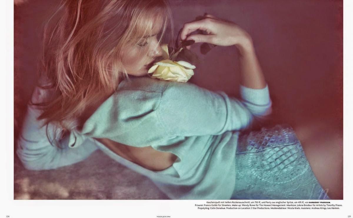 rosie huntington-whiteley vogue alemania